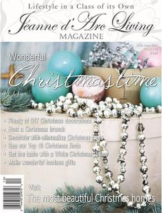 The Jeanne d'Arc Living Magazine-12th Issue 2015 , Magazines and Books - Jeanne d'Arc Living, Vintage Market And Design  - 1