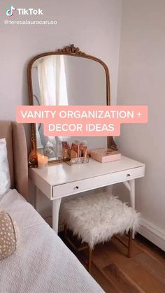 Cute Bedroom Decor, Teen Room Decor, Room Ideas Bedroom, Diy Room Decor, Home Decor, Aesthetic Room Decor, Beauty Room, My New Room, Room Inspiration