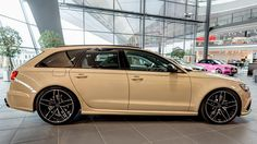 Photo gallery with 12 high resolution photos. Check out the Mocha Latte Audi RS6 Avant images at GTspirit.
