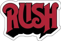 Licenses Products Rush Logo Sticker $2.99 #topseller