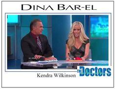 Kendra Wilkinson @ The Doctors wearing Dina Bar-El