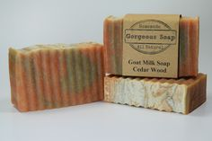 We have Cedarwood goat milk soap, have you tried it yet? If not, then you're missing out! A good soap goes a long way!  #cedarwood #goatmilksoap #soap #goatsoap #soaps #goatsmilksoap  #health #handmade #homemade #enjoy #handcrafted #natural #awesome #naturalsoap #handmadesoap #homemadesoap #skin #skincare #handcraftedsoap #healthy #healthyskin #skincareproducts #enjoying #skincaretips #family #love #gorgeous #soapmaker #soapshare #soapmaking