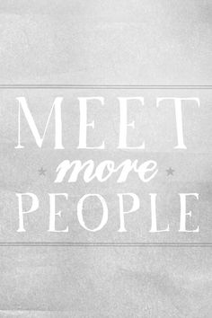 I want to meet new people. I love making new friends and connections. I would hope to meet a lot of new people and expand my network of people who love advertising as much as I do.