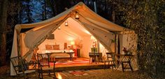 Whether you are looking for something for just the two of you, or an intimate weekend wedding, these glamping locations will amaze you!