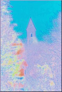 """'Stoffdesign """"Alter Turm""""' von Rudolf Büttner bei artflakes.com als Poster oder Kunstdruck $18.02"""