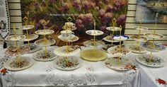 Bernideen's in Historic Old Colorado City: BERNIDEEN'S HAS LOTS OF AFTERNOON TEA TRAYS