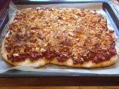 Glutenfri pizzabunn – Mat for allergikere Hawaiian Pizza, Gluten Free, Vegan, Food, Glutenfree, Essen, Sin Gluten, Meals, Vegans