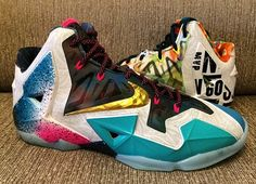 """Nike LeBron 11 """"What the LeBron"""" Detailed Images http://www.equniu.com/2014/05/27/nike-lebron-11-what-the-lebron-detailed-images/"""