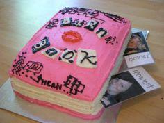 """A Mean Girls """"Burn Book"""" Cake! Oh Regina George would be so Fetch!"""