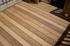 Treating Cedat Tongue And Groove Cedar Lumber Deck Decking Material