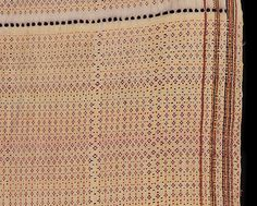 Detail: NW518 - From the collection of a British family living in South eastern Nigeria in the colonial period this cloth is a rare example of Igbo women's weaving, most probably from one of the western Igbo weaving groups of the Asaba region close to the Western bank of the lower Niger river. http://www.adireafricantextiles.com/nigeriacloth23.htm