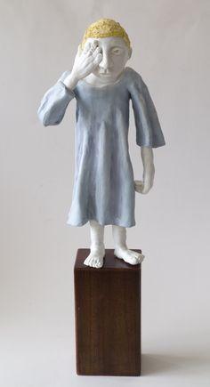 'War Orphan', 2015 - sculpture by Annie McIver.