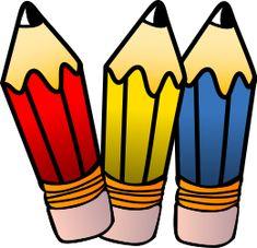 pencils three images mat riel scolaire pinterest third rh pinterest co uk clipart colored pencils pencil clip art images