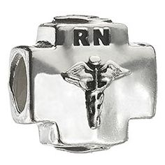 $35 RN Sterling Silver Chamilia Charm (for when i pass the NCLEX)
