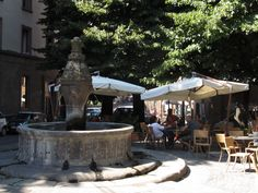 Viterbo Fountain - Piazza della Morte circa AD1251