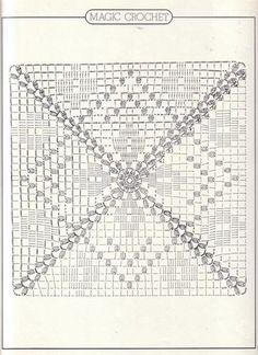 CROCHET GRANNY SQUARE DIAMONDS – marylo – Picasa Nettalbum