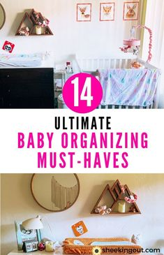 Having babies in Small Spaces can sound like a daunting task. I've been there. Here are14 ultimate baby diy organizing must-haves to help you and give you baby nursery ideas while living in a small space. #babiesinsmallspaces, #organizingforbaby, #babydiyorganization, #babynurseryideas, #babyhacks, #smallspaceliving Pack Up And Go, Baby Hacks, Baby Tips, Diaper Changing Station, Advice For New Moms, Cube Organizer, Baby Lotion, Baby Swings, One Bedroom Apartment
