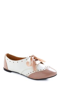 look like oxfords.. but are only $38 on modcloth... win win situation because they're adorable too!