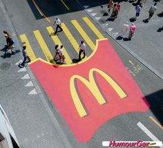 Campana publicidad McDonarl'd #divertido #marketing