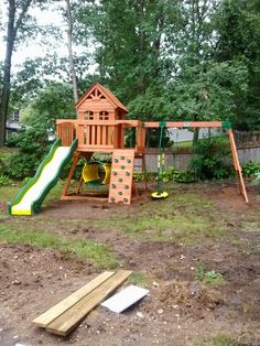 Backyard Discovery Cedar View Playset Installed In Nesconset, NY.
