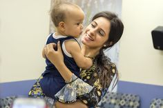 Camila at the Childrens Health Fund Center yesterday