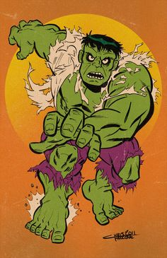 #Hulk #Fan #Art. (Hulk) By: ChrisFaccone.