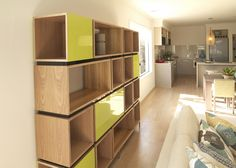 Plywood Shelving