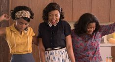 Janelle Monáe, Taraji P. Henson and Octavia Spencer as: Mary Jackson, Katherine Johnson and Dorothy Vaughan in the film Hidden Figures. John Glenn, Kevin Costner, Katniss Everdeen, Jackson, Katherine Johnson, Octavia Spencer, Noomi Rapace, Taraji P Henson, Romantic Movies