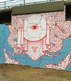 Dopeness by in Argentina Graffiti, Fine Art, Murals, Beautiful, Bridges, Invitations, Argentina, Blue Prints, Wall Paintings