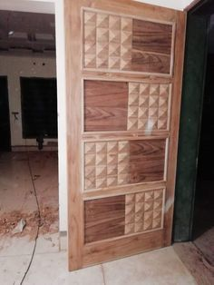 beautiful door desin squre box and pure wood Wooden Front Door Design, Door Gate Design, Wooden Front Doors, Pooja Room Door Design, Ceiling Design Living Room, Door Design Interior, Cool Room Decor, Bedroom Cupboard Designs, Exterior Doors