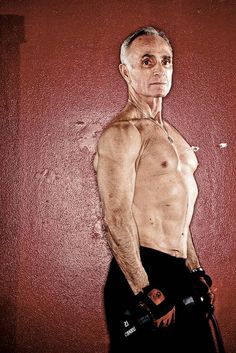 Arden Johnson is a 68-year-old bodybuilder who will travel to Cologne, Germany in the summer of 2010 as part of Team Oregon to compete in the Gay Games. Johnson stands for a portrait, Feb. 5, 2010, at Empower Fitness downtown Portalnd. Thomas Boyd/Th #Fitness