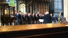 Cambridge Kiwanis Choir From Canada At Newark Parish Church Of St Mary M...