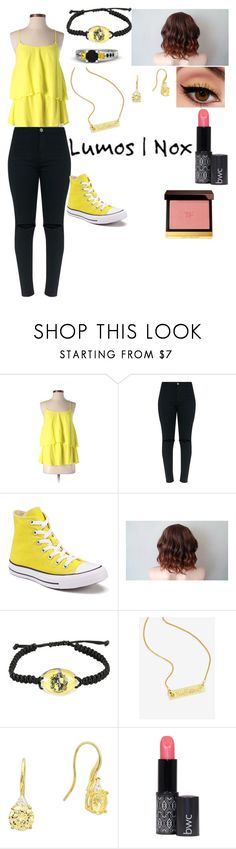 """Untitled #133"" by alexanderhamiltion88 ❤ liked on Polyvore featuring PJK Patterson J. Kincaid, Converse, Warner Bros., Crislu and Tom Ford"