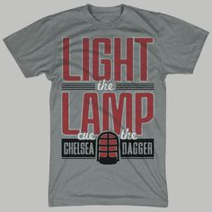 Light the Lamp and Cue the Chelsea Dagger Chicago Blackhawks Shirt
