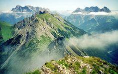 Karwendel Wetterstein lange Touren Mittenwald bis Achensee