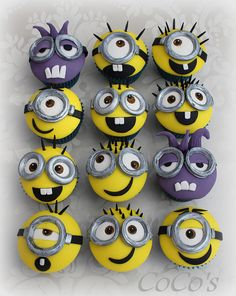 minion cupcakes | Flickr - Photo Sharing!