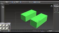 3ds Max 2015 New Tools - Quad Chamfer