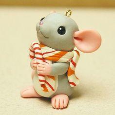 ornament  porcelana fria polymer clay: