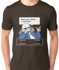 Would you? Unisex T-Shirt
