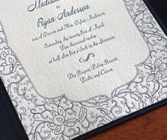 Your whimsical motif can be carried through to other enclosure cards, resulting in the sweetest wedding invitation suite guests will ever lay eyes on.