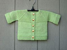 Tejidos a dos agujas para bebé - Imagui Baby Cardigan, Knit Cardigan, Baby Knitting, Crochet Baby, Baby Kind, Cute Babies, Baby Boy, Sweaters, Cardigans