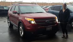 Jessica's new 2014 FORD EXPLORER! Congratulations and best wishes from Landmark Ford and Jeremy Lookis.