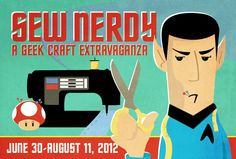 Sew Nerdy Art Show Features Geeky Delights