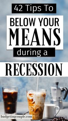How to Live Below Your Means During a Recession: 42 Frugal Tips - - Want to spend less money while still enjoying life? Check out our 41 simple tips to live on less money and live below your means (without feeling like it). Money Saving Mom, Money Saving Challenge, Frugal Living Tips, Frugal Tips, Save Money On Groceries, Groceries Budget, Money Budget, Money Plan, Living Below Your Means