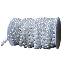 eBoTrade 99 ft Crystal Like Beads by the roll - Wedding Decorations Made in US by eBoTrade Dirct, http://www.amazon.com/dp/B01M9ET449/ref=cm_sw_r_pi_dp_x_dTUFybBQP4T64