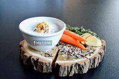 Recette de potage crémeux aux légumes, poulet, riz sauvage pour bébé (Dès 10 mois). Parfait pour réchauffer bébé pendant l'hiver et pour introduire le riz sauvage dans son alimentation pendant la diversification alimentaire !