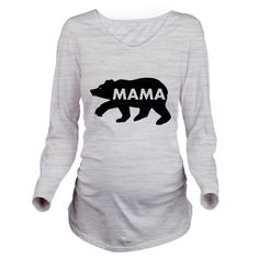 Mama Bear Long Sleeve Maternity T-Shirt on CafePress.com Cute and Funny Pregnancy shirt