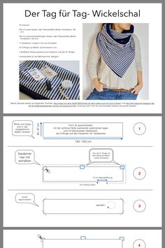 home accessories sewing Halstuch Sewing Scarves, Sewing Clothes, Diy Clothes, Sewing Hacks, Sewing Tutorials, Sewing Crafts, Diy Crafts, Sewing Patterns Free, Free Sewing