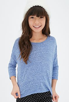 Heathered Knit Top (Kids) | Forever 21 girls - 2052287848