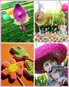 Festa Mexicana super fofa! Ideias encantadoras para se inspirar! #festamexicana #festadobigode #festatematica